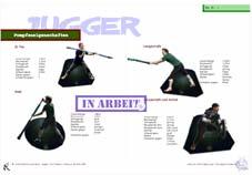 Jugger-Blatt: Pompfenarten