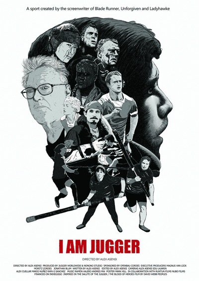 I Am Jugger movie poster, by Mark Hill
